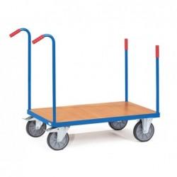 Chariot à barres de poussée