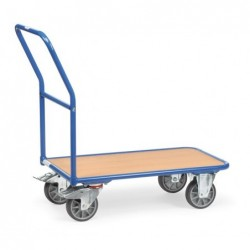 Chariot de magasin roues...