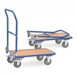 Chariot pliable plateforme...