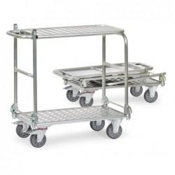 Chariot pliable aluminium...