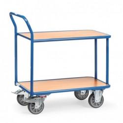 Chariot 2 plateaux étagère...