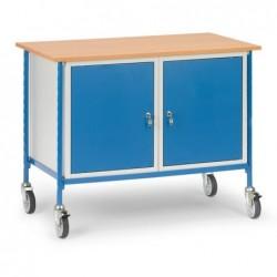 Table roulante avec 2 placards