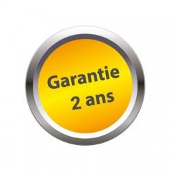 Transpalette charge 2000 kg  roues directrices caoutchouc