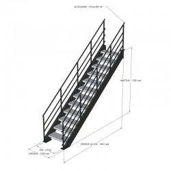 Escalier pour mezzanine...